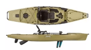 Fishing kayaks with pedals are here for Fishing kayak with foot pedals
